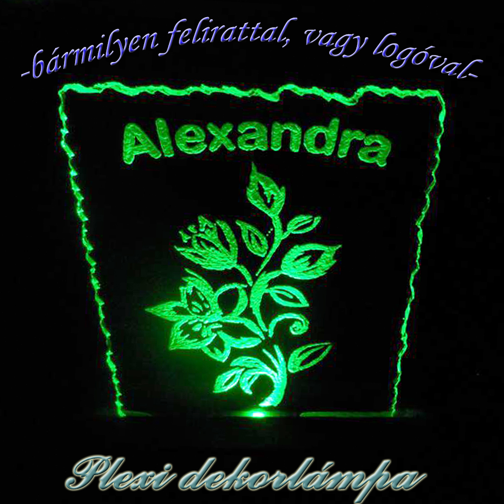 Alexandra dekorlámpa