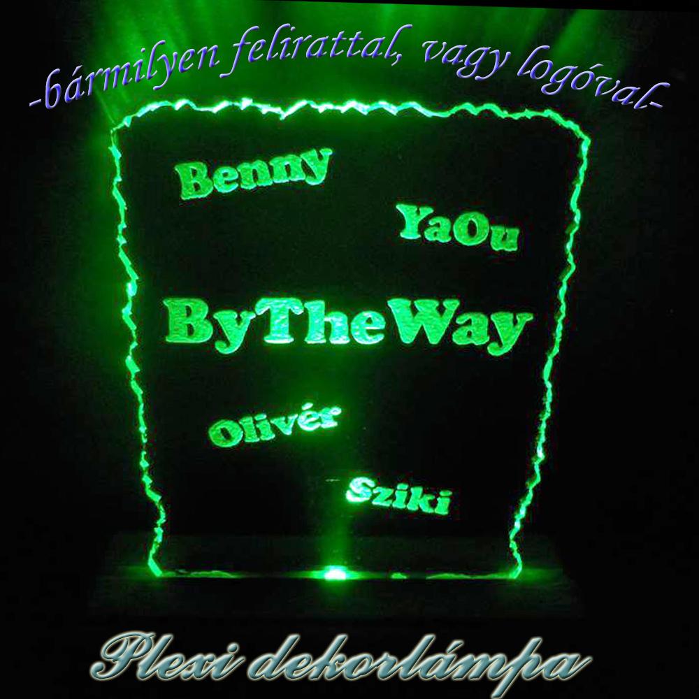 ByTheWay zenekar dekorlámpa