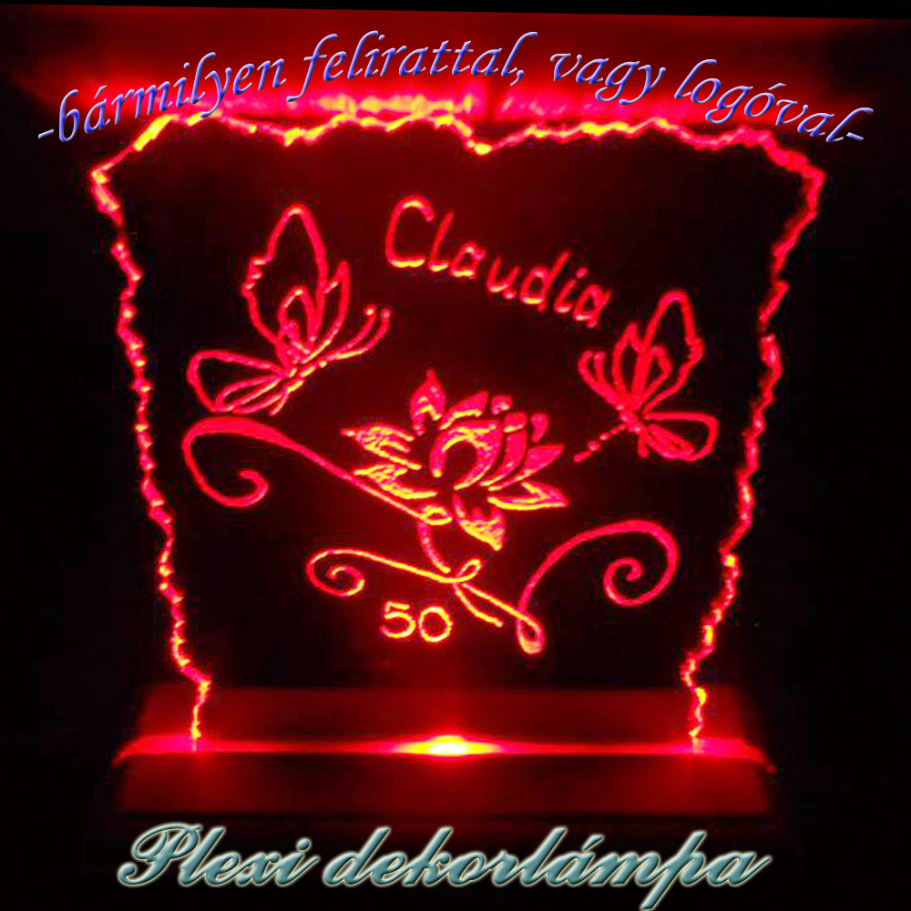 Claudia dekorlámpa