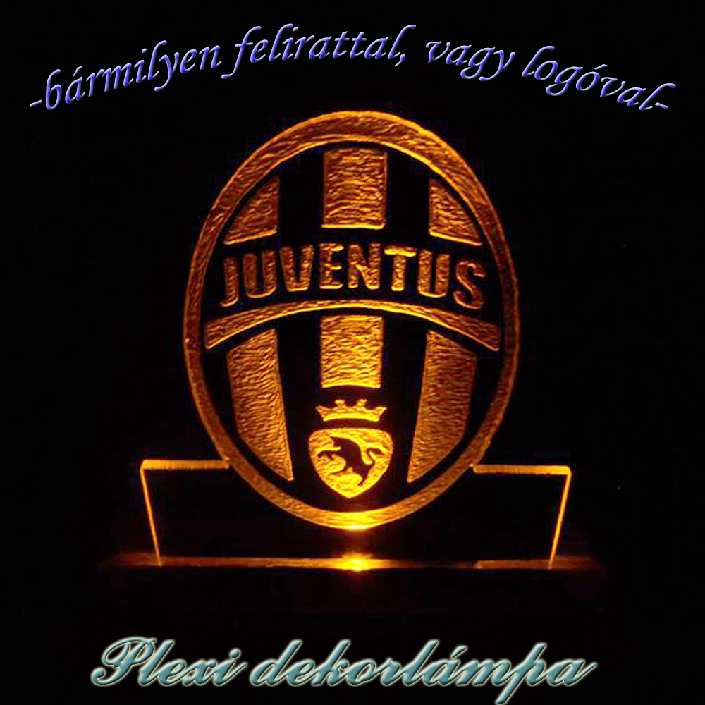 Juventus dekorlámpa