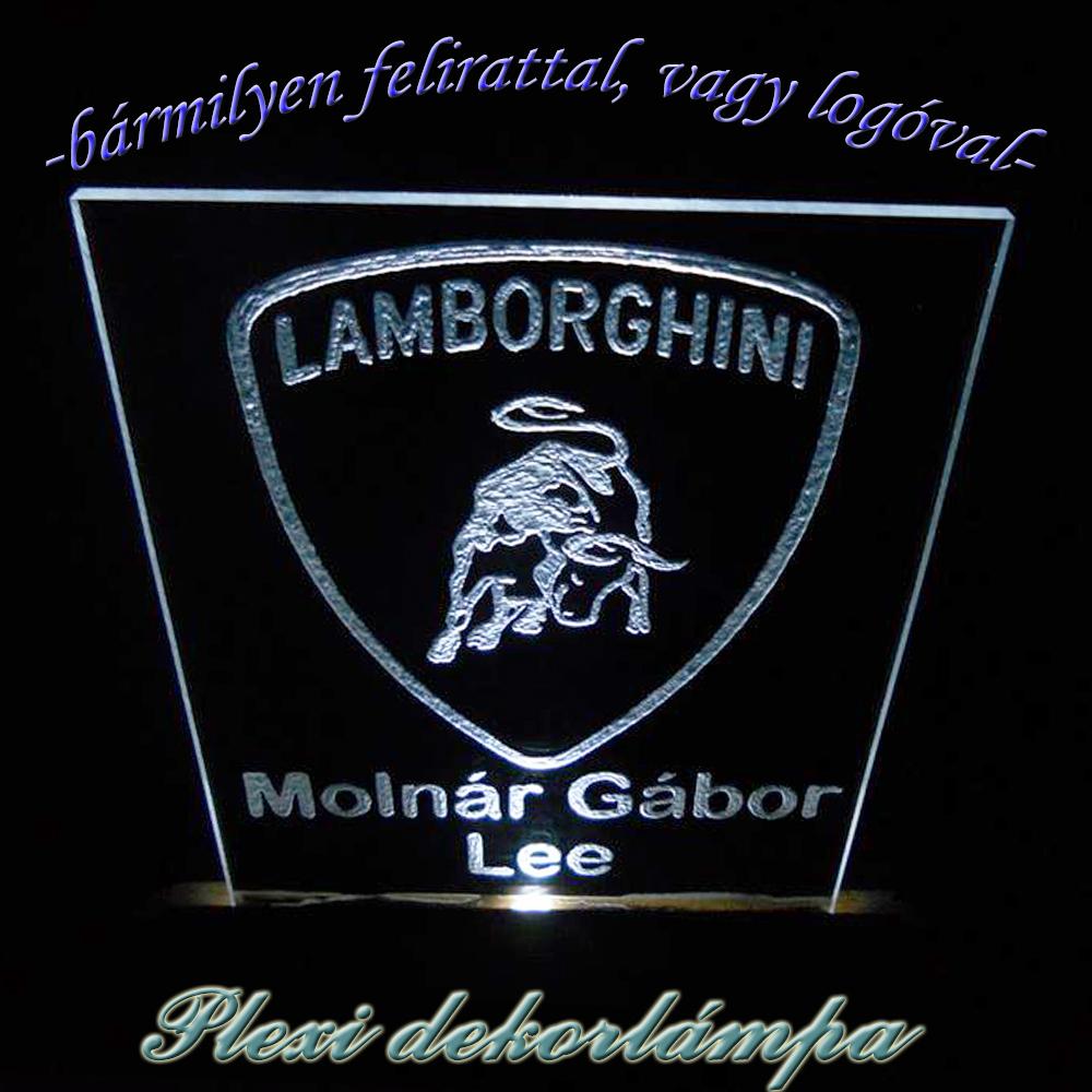 Lamborghini dekorlámpa