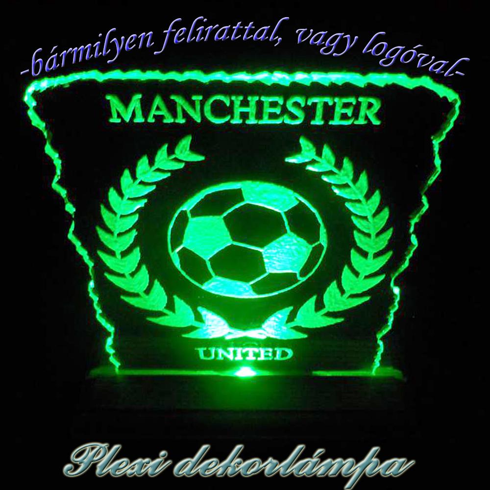 Manchester United dekorlámpa