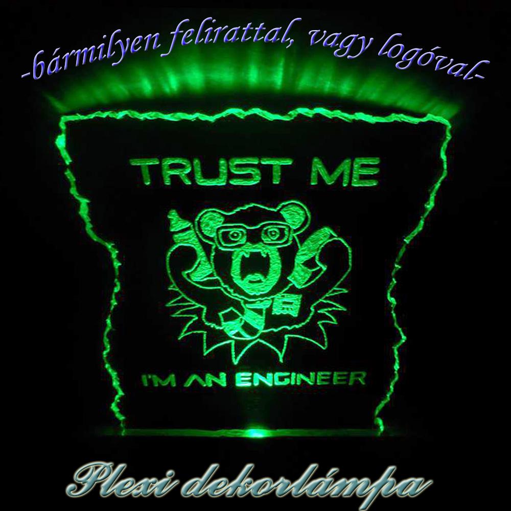 Dekorlámpa mérnököknek