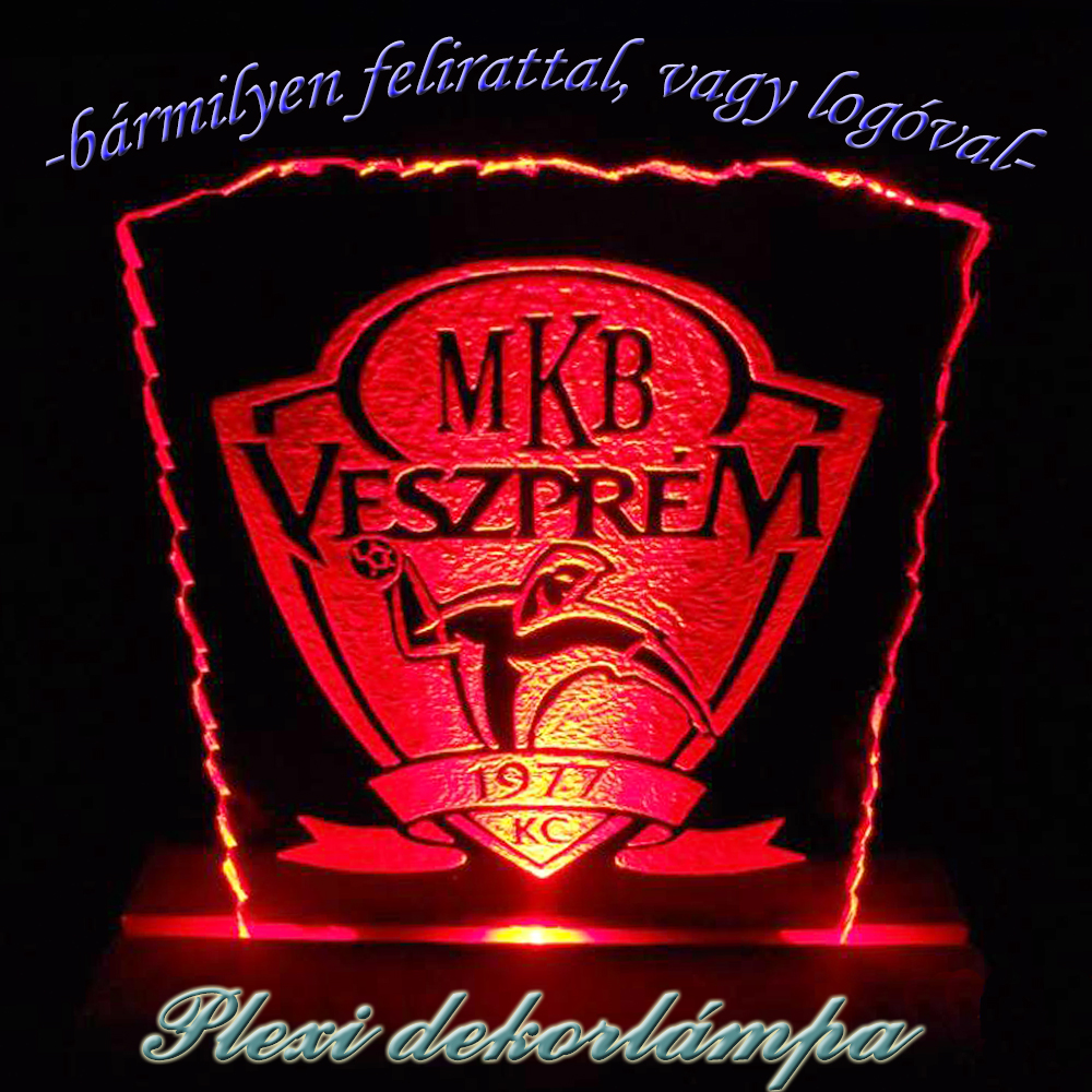 MKB Veszprém dekorlámpa