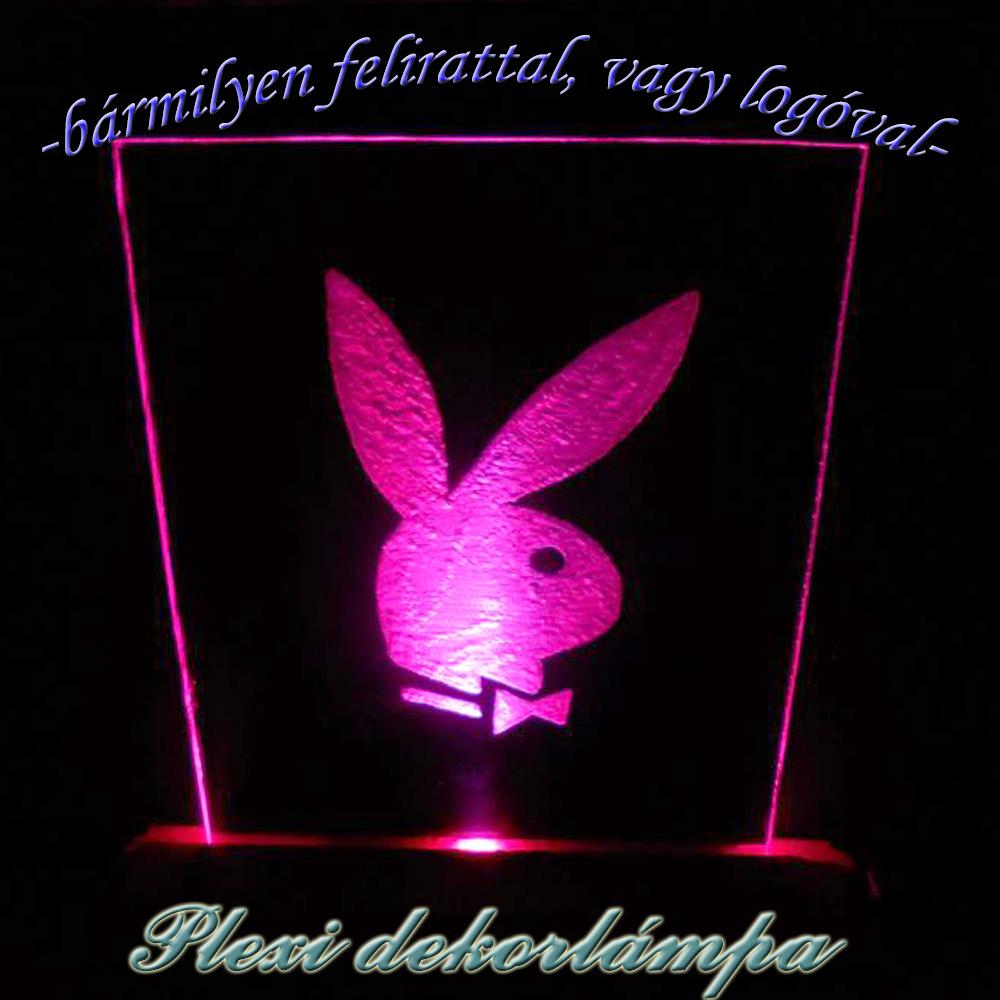 Playboy dekorlámpa